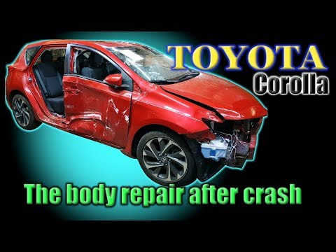 TOYOTA Corolla. Body Repair. Ремонт кузова.