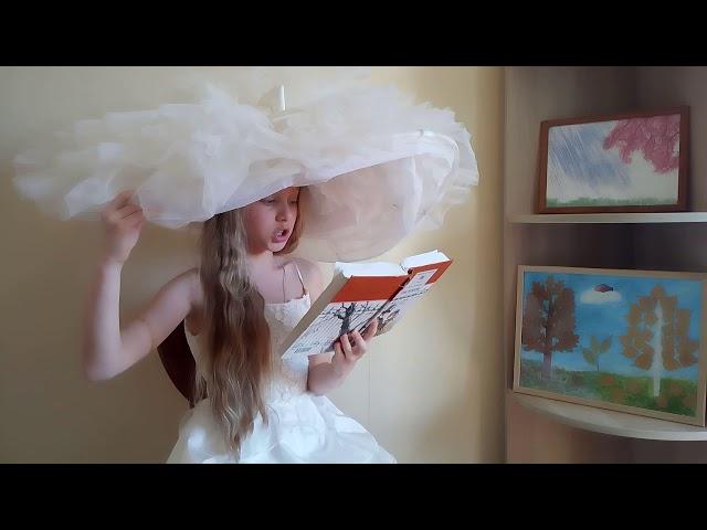 Изображение предпросмотра прочтения – АлисаКоробова читает отрывок изпроизведения «Обломов» И.А.Гончарова