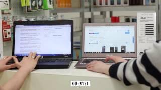Сравнение скорости работы ноутбука 2010 года на Celeron с SSD и 2015 года на i7 с HDD