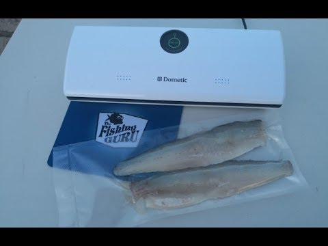 How To CRY-VAC (vacuum Seal) FISH, BAIT And MEAT For Freezing