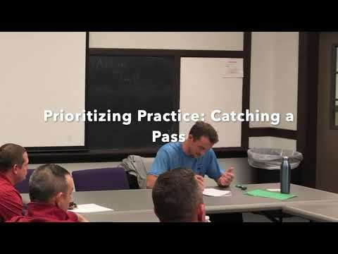 Prioritizing Practice: Passing