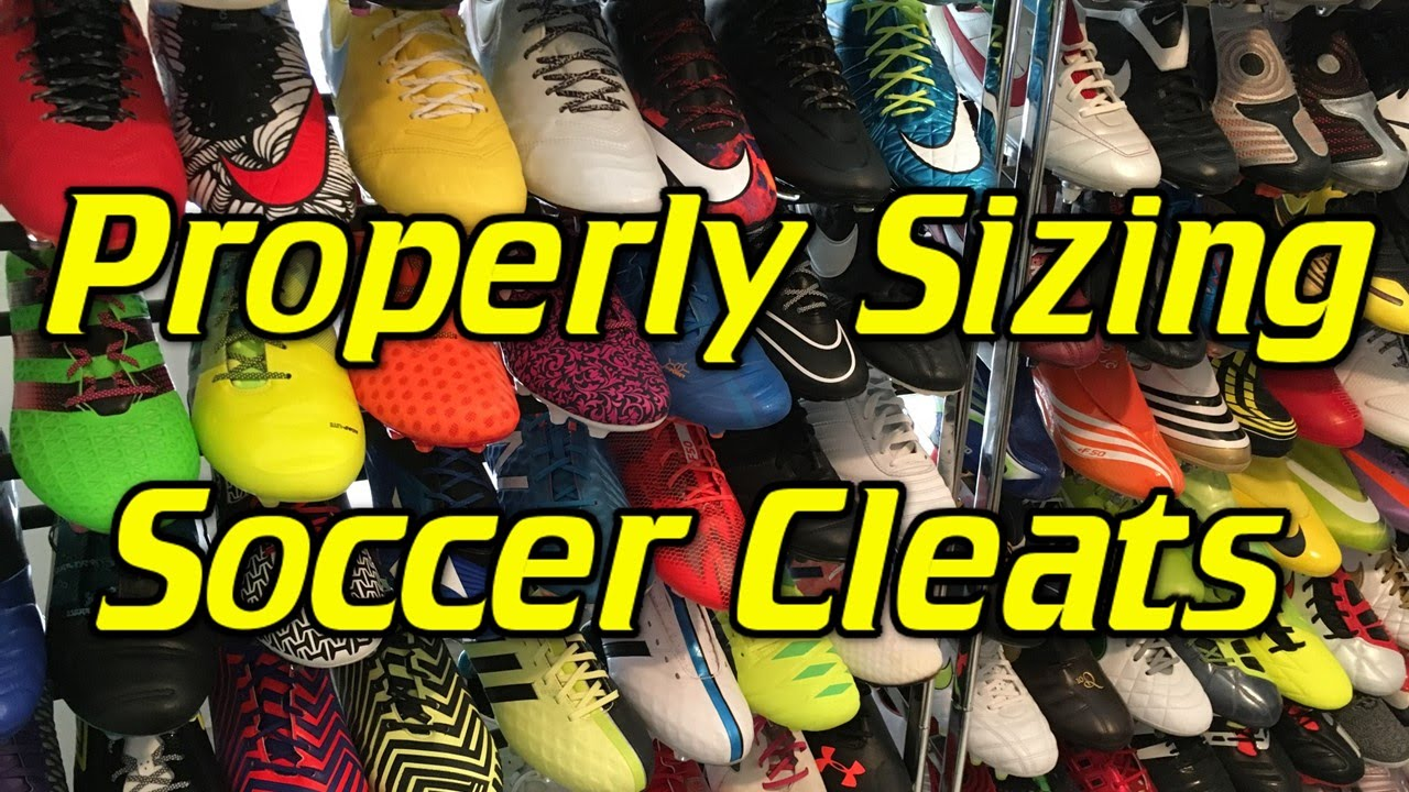 How to Properly Size and Fit a pair of Soccer Cleats/Football ...