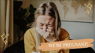 FINDING OUT I'M PREGNANT & TELLING MY HUSBAND!