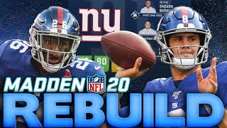 The Giants Draft Chase Young! Rebuilding The New York Giants! Madden 20 Franchise Rebuild