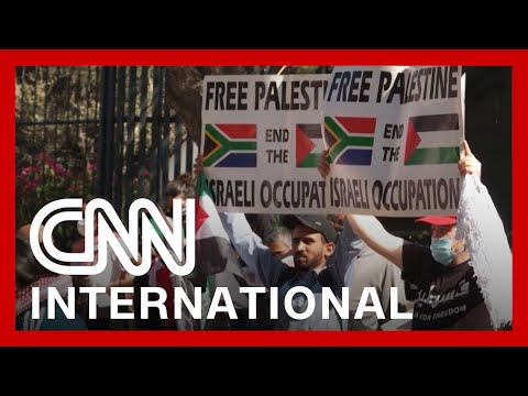 Pro-Palestinian protests take place around the world amid conflict with Israel