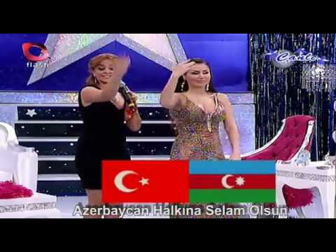Azeri Kizi Gunel - Biz iki devlet, bir milletik .
