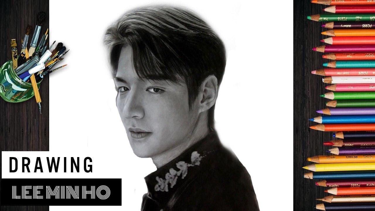 Vẽ chân dung Quân Vương Bất Diệt Lee Min Ho – Drawing (The King: Eternal Monarch) Lee Gon |JNB Lover