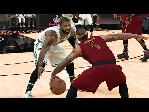 NBA 2K18 Rosters│ Cavaliers vs Celtics│KYRIE RETURN! Crazy ending!