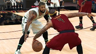 Nba 2k18 rosters│ cavaliers vs celtics│kyrie return! crazy ending!