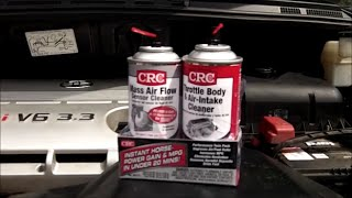 How To - Cleaning Mass Airflow Sensor (MAF) & Throttle Body - 2004 Toyota Sienna 3.3L