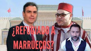 Pedro Sánchez negocia con Mohamed VI refugiarse en Marruecos si pierde el poder