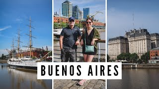OUR ARGENTINA TRIP STARTS NOW! | Visiting Buenos Aires for 3 Days