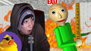 Quackity Plays Baldi's Basics For The First Time
