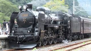 長野電鉄 ゆけむり,8500系、2100系 & SLレトロ碓氷号 PP(D51+C61)2005年頃   HDV 898