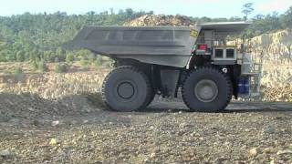 Hitachi mining trucks in Australia