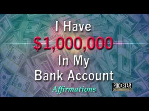 I Have One Million Dollars in My Bank Account - Abundance Mindset - Super-Charged Affirmations