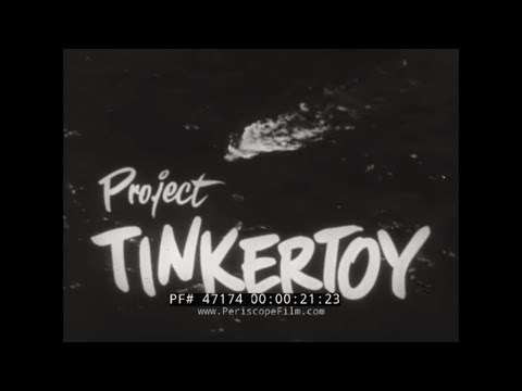 1953 U.S. NAVY ELECTRONIC MANUFACTURING DEVELOPMENT PROGRAM  PROJECT TINKERTOY 47174