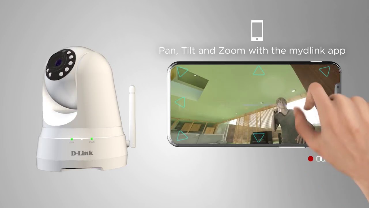 220be7a70 D Link Full HD Pan   Tilt Wi Fi Day Night Camera DCS 8525L - YouTube