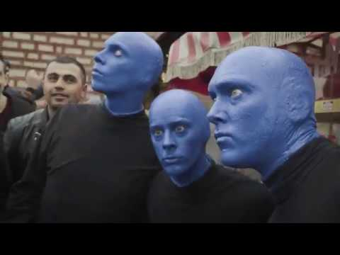 What do Blue Men do while sightseeing? | Blue Man Group in Istanbul | Blue Man World Tour