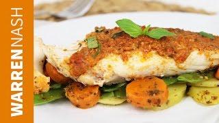 Red Snapper En Papillote Recipe - Cook in 5 minutes - Warren Nash