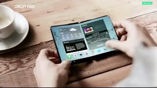 Will this be the first foldable phone display?