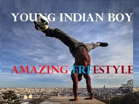 Young Talent from INDIA with an awesome FREESTYLE Skills
