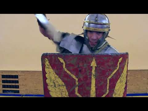 Roman fencing - Protection and attack technique