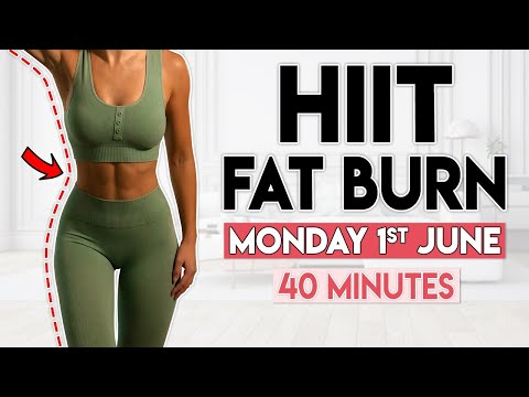 HIIT FAT BURN (lose belly fat) | 40 min Home Workout