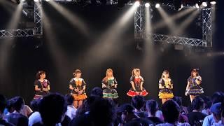 3期メンバーお披露目公演 1.Poppin' Candy 2.純潔の花 3.空は、なみだ跡.