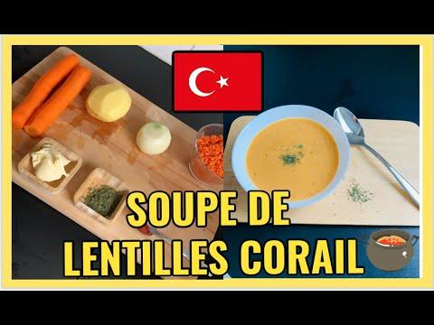 🇹🇷recette-:-mercimek-corbasi---soupe-de-lentilles-corail-turque
