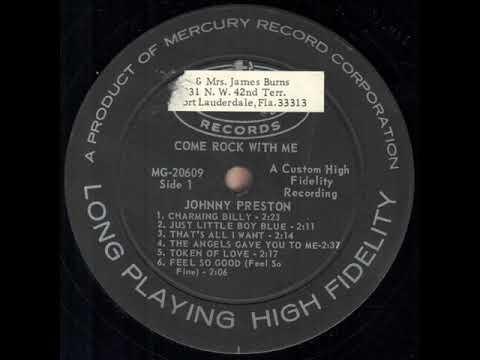 Johnny Preston  - Come Rock With Me (Full Album 1960)