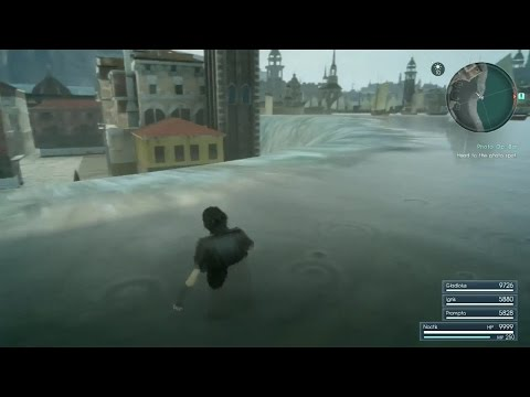 FFXV - Altissia OOB Glitch tutorial, Hidden area