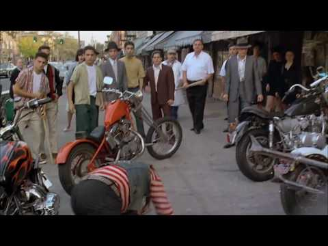 A Bronx Tale - Now yous cant leave - Biker scene (HD)