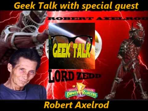 Geek Talk with Special Guest Robert Axelrod