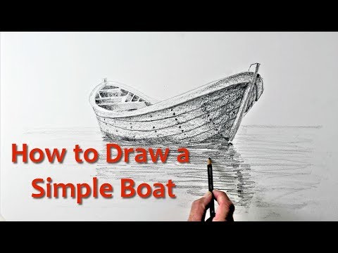Start Drawing: PART 9 - Draw A Simple Boat