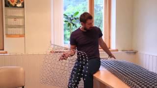 видео пластиковая сетка для армирования кладки