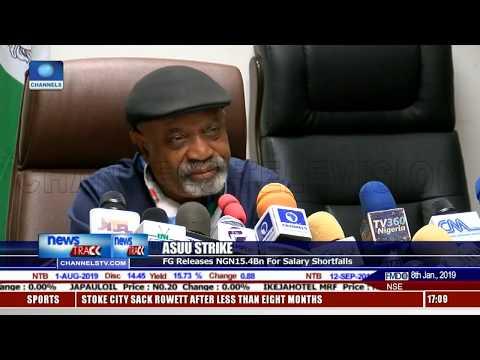 ASUU Strike: FG Releases N15.4bn For Salary Shortfalls
