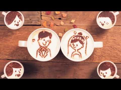 История любви двух чашек кофе. Съёмка и создание мультфильма с множества фотографий