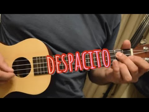 Despacito - Luis Fonsi ft. Daddy Yankee [With TAB/Score Melody Ukulele Cover/Lesson]