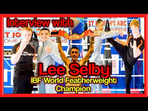 Lee Selby Boxing Training & Interview (IBF World Featherweight Champion) | GNT