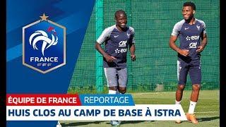 Equipe de France : Séance au camp de base pour les Bleus I FF…