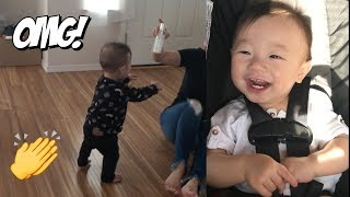 He Took His First Steps! | HAUSOFCOLOR