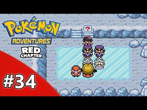 Pokemon Adventure Red Chapter Nuzlocke Challenge - Part 34 - Santa Claus?