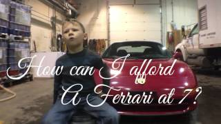 homepage tile video photo for How can I afford a Ferrari at 7 years old?