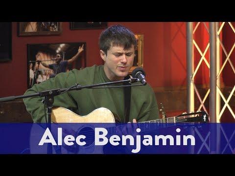 "Alec Benjamin- ""Let Me Down Slowly"" (Live)"