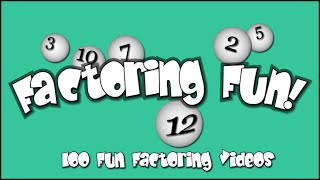 Factoring Fun (4.OA.B.4)
