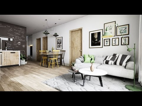 Speed Level ArchViz Design : Scandinavian Apartment Unreal Engine 4