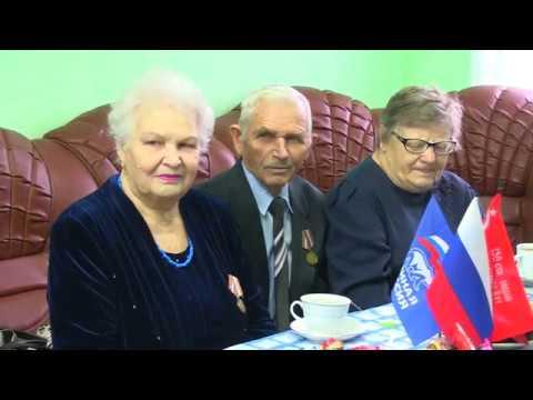 Встреча с детьми войны в честь 75-летия Победы в Великой Отечественной войне