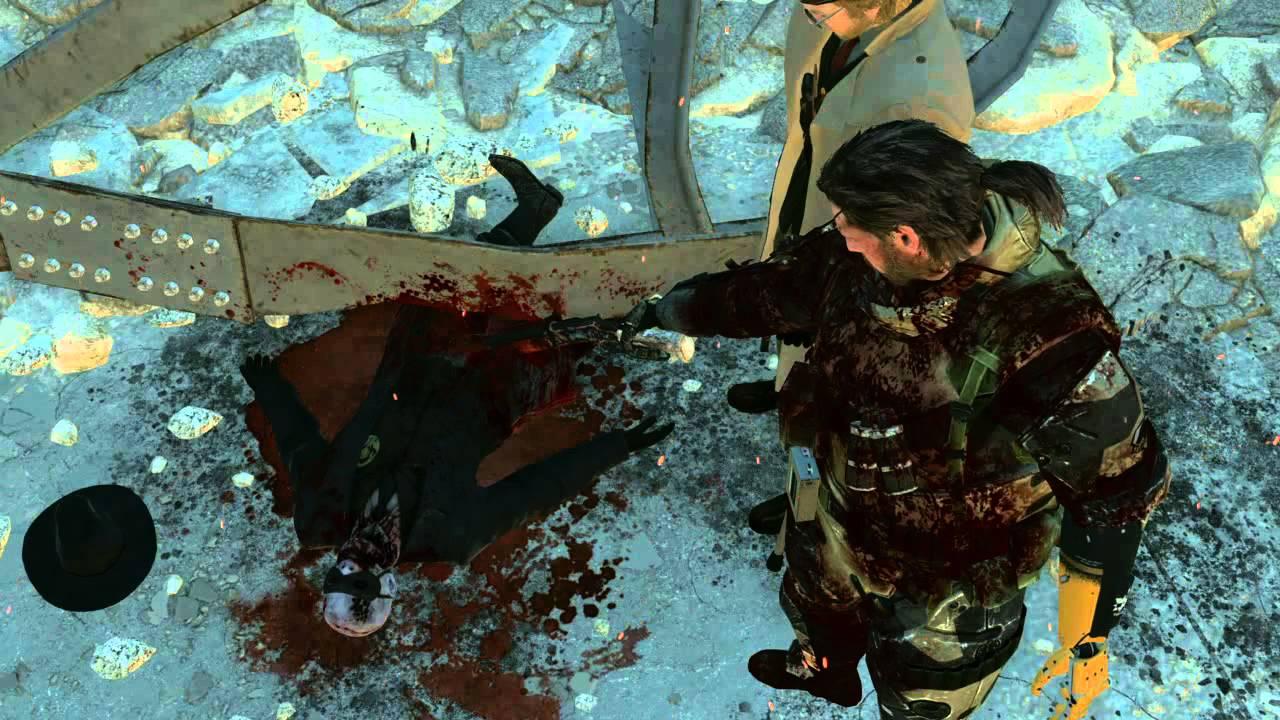 Metal Gear Solid 5: Phantom Pain Skull Face Death - YouTube