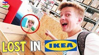 WO ist Ash 😱? Verschwunden beim Verstecken spielen im IKEA 😁 TipTapTube Family 👨👩👦👦